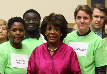 Chairwoman Maxine Waters