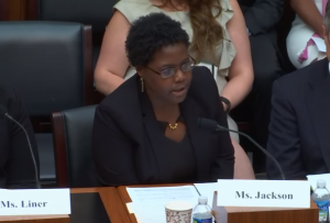 AFR's Amanda Jackson testifies before the House Financial Services Committee
