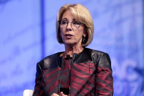 Former Education Secretary Betsy DeVos